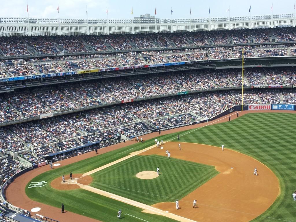 Madison Square Garden: No. 8: Yankee Stadium, New York City, 6/10/12