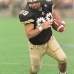 Tim Stratton won the Mackey Award in 2000 as the nation's best tight end. Photo from Purdue Athletics Communications.