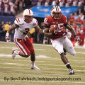 Wisconsin's Melvin Gordon rips off a long run in the 2012 Big Ten title game.