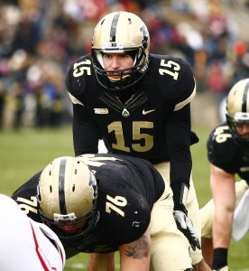 Rob Henry is in the quarterback race at Purdue under new coach Darrell Hazell.