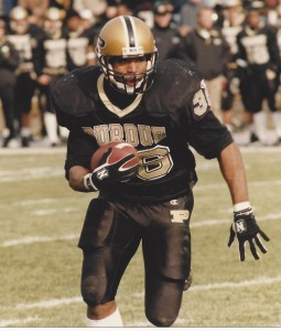 Edwin Watson is one of Purdue's all-time top rushers. Photo from Purdue Athletics.