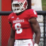 Tevin Coleman was nearly unstoppable against Indiana State. File photo by Chris Goff.