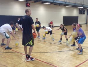 Robbie Hummel returns home to Valparaiso to run a camp. Photo by Doug Griffiths.