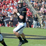 Danny Etling had a rough day against Central Michigan. File photo by Ben Fahrbach.