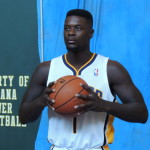 Lance Stephenson feels great potential in the 2013-14 Pacers. (Photo by Chris Goff.)