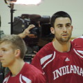 Will Sheehey and the Hoosiers are 12-6 on the season. (Photo by Chris Goff.)