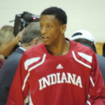 Troy Williams is the ultimate Hoosier: young, talented and prone to mistakes. (Photo by Chris Goff.)