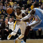 "Lance Stephenson said lost focus ""came back to haunt us"" in a bad defeat at Orlando. (Photo by Chris Goff.)"