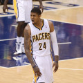 Paul George. Photo by Pacers Sports and Entertainment.