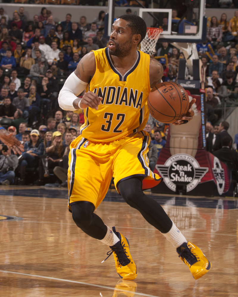 C.J. Watson is one of many Pacers to miss significant time this season.  (Photo 555b8666d