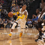 Monta Ellis scored 24 points in the Pacers win over Minnesota. (Photo by Pacers Sports and Entertainment)