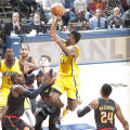 Solomon Hill scored 10 points in the Pacers victory over Atlanta.  (Photo by Pacers Sports and Entertainment.)