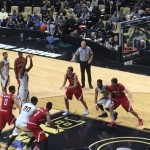 Purdue vs. Nebraska. Photo by Keith Carrell.