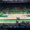 Women's basketball venue, Rio de Janeiro.