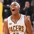 Myles Turner scored 30 points in the Pacers opening night win. (Photo by Pacers Sports and Entertainment)