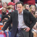 Tom Crean saw his team lose their fourth home game of the season on Sunday. (Photo by insidethehall.com)