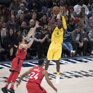 Victor Oladipo and the Pacers will look to take advantage of a favorable upcoming schedule. (Photo by Pacers Sports and Entertainment)