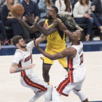 Lance Stephenson rises for a shot. (Photo by Pacers Sports and Entertainment)