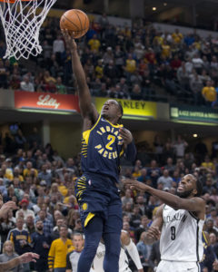 Darren Collison is averaging a career-high in assists for the Pacers. (Photo by Pacers Sports and Entertainment)
